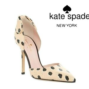 Kate Spade Lula d' Orsay Pump in Shellback sz 9.5